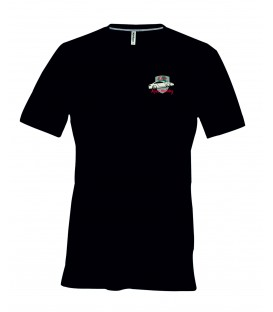 Tee shirt homme manche courte col V