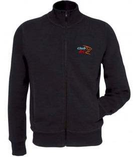 Sweat-shirt homme zippé