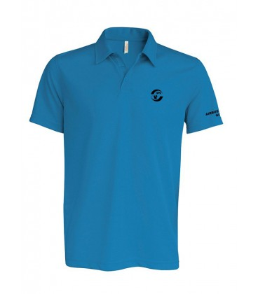 Polo polyester homme