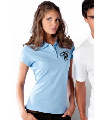 Polo femme manches courtes