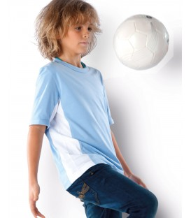 Tee shirt enfant bicolore